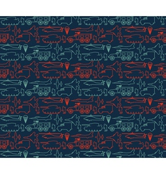 Seamless military pattern 14 vector