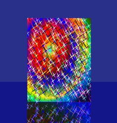 Fireworks Sparkles Background vector image vector image