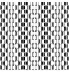 Design seamless monochrome lattice pattern vector image