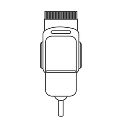 Electric hair clipper icon vector