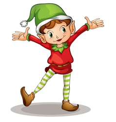 Little elf vector image