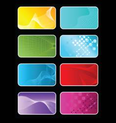 abstract background designs vector image vector image