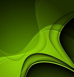 Abstract background with green lines vector