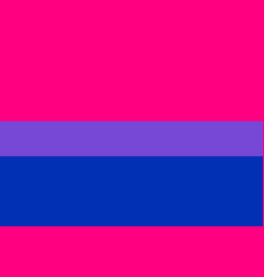 Bisexual canvas movement lgbt flat icon vector