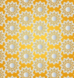 sun abstract pattern vector image vector image