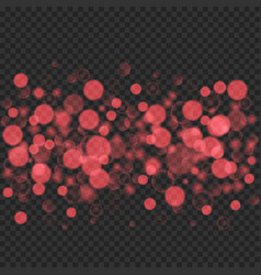 bokeh light effect vector image vector image