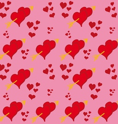 Hearts and Arrows vector image vector image
