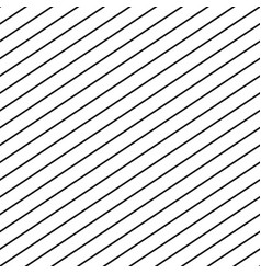 seamless stripe pattern repeat thin diagonal lines vector image