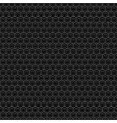 Black rubber texture vector image vector image