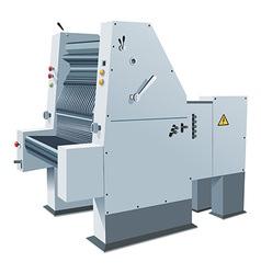 Printing-press vector