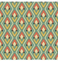 Retro textile pattern vector