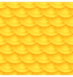 Seamless pattern of honeycombs vector