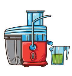 Juicer juicing machine vector