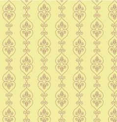 Hand drawn seamless oriental background pattern vector