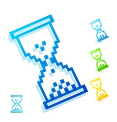 Color wait cursor vector