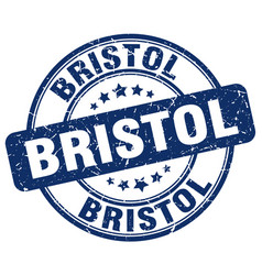 Bristol stamp vector