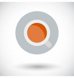 Coffee single icon vector image vector image