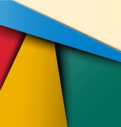 Material Design Pattern - Colorful Abstract Retro vector image