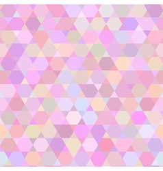 seamless pattern with triangles vector image vector image