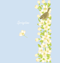 springtime vector image vector image