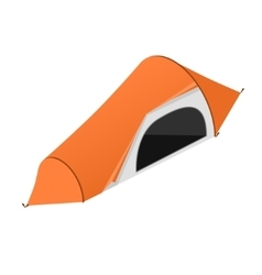 Red Camping Tent vector image