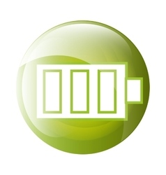 Battery icon symbol design vector image
