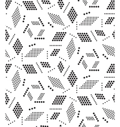 Geometric seamless pattern modern circle texture vector
