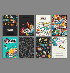 ards of space vector image vector image