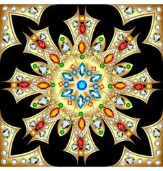 background circular ornaments vector image vector image