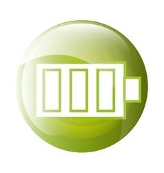 Battery icon symbol design vector image