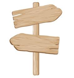 Wooden pointer vector