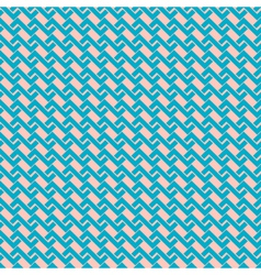 Zigzag seamless pattern in retro colors vector image