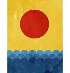 Textured wallpaper vector image