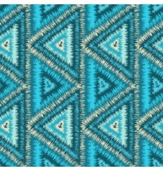 Seamless pattern tribal navajo vector