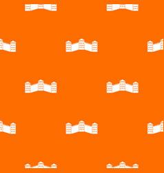 Great wall of china pattern seamless vector