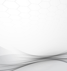 Grey modern abstract tech background layout vector image