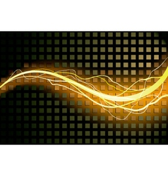 lighting background vector image vector image
