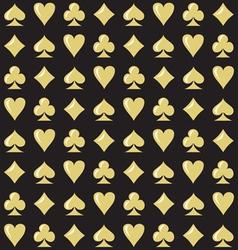 Royal Casino Seamless Pattern vector image vector image