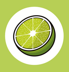 Lemon citrus tropical image vector