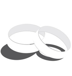 rings vector image