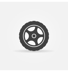 Tire icon or logo vector