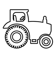 Farm windmill icon outline style Royalty Free Vector Image