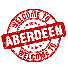 Welcome to aberdeen vector