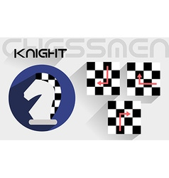 The moves of the chess knight vector