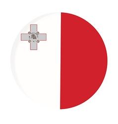 Malta flag vector image vector image