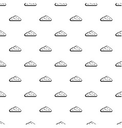 Wet cloud pattern vector