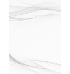 Abstract transparent wave document lines layout vector image
