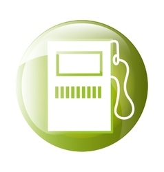 Gas station icon symbol design vector image vector image