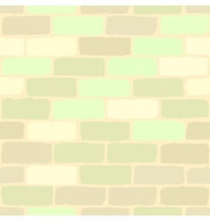 Pastel Color Bricks vector image
