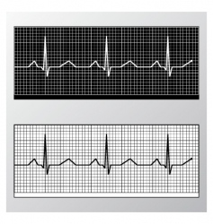 Heart pulse monitor vector